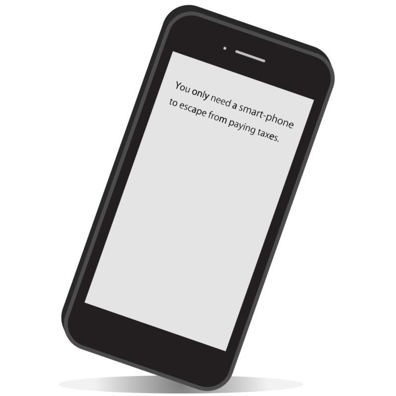 必要なものはスマートフォンだけ