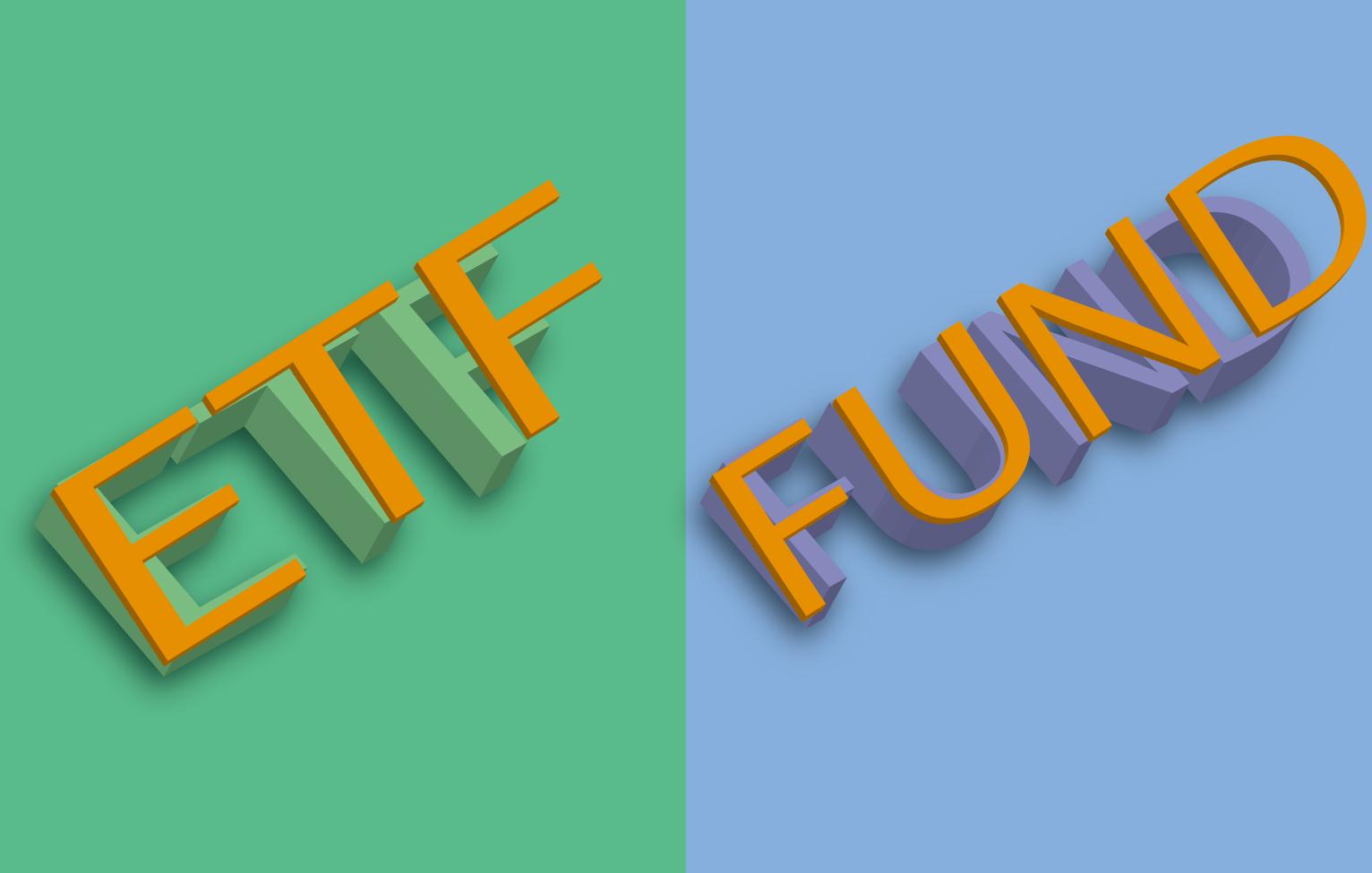 ETFとインデックスファンドの違い