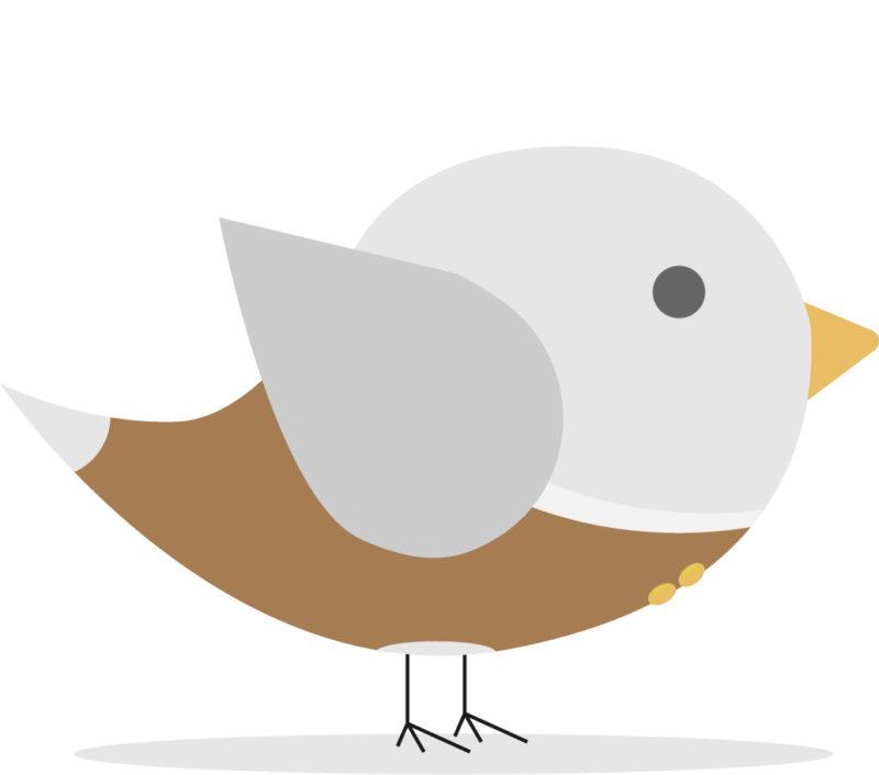 サラリーマンの鳥