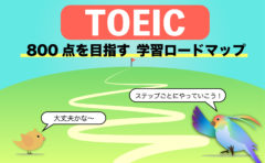 TOEIC 高得点ロードマップ【ここから始めよう!】