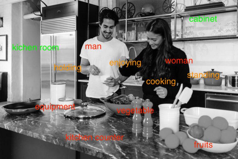 TOEIC 700点 勉強法|Part1 男女が料理をしている写真