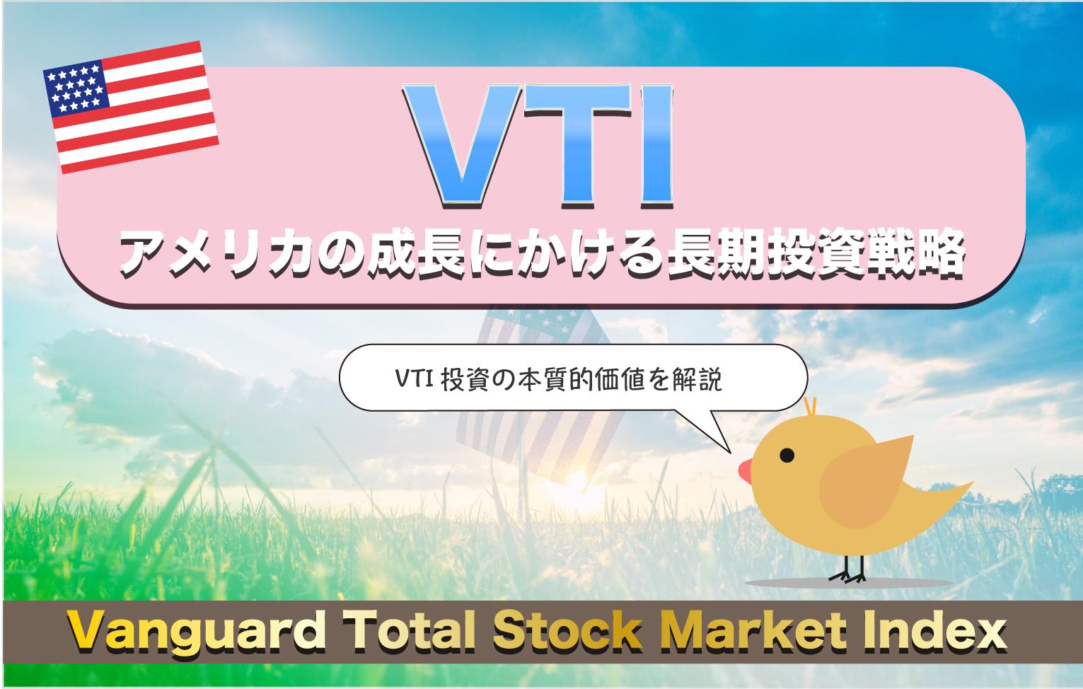 VTIの長期投資戦略【米国市場に集中投資する価値は?】